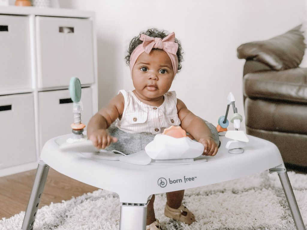 my favorite top-rated portable activity center and bouncer for babies