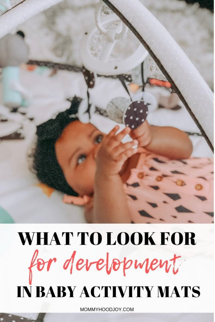 What to look for in baby activity mats for development