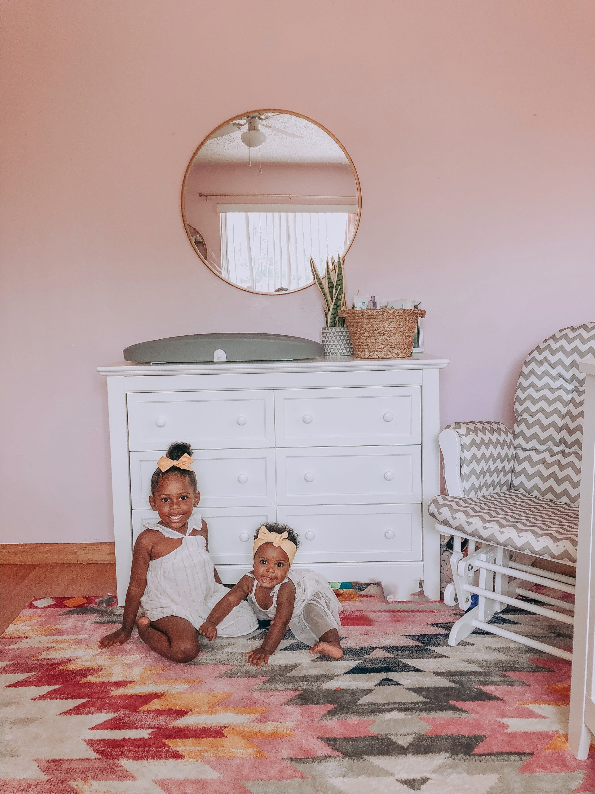 Shared Nursey and toddler room Ideas from Mommyhood Joy Blog is a Miami, FL Family, Travel, and Lifestyle Blog.