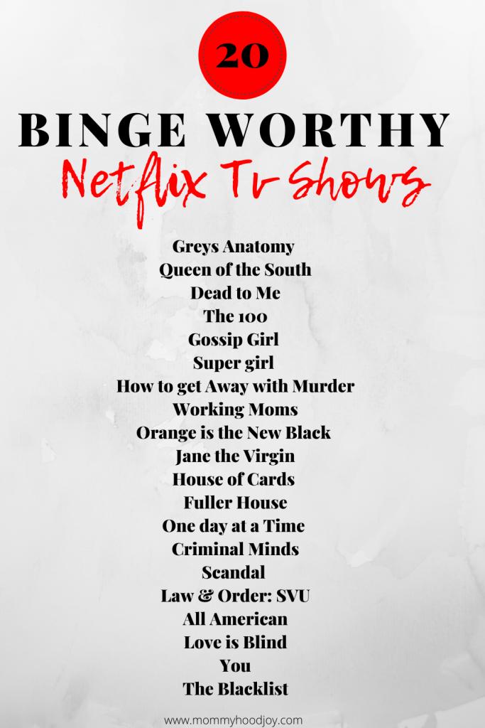 Popular Netflix Tv Shows