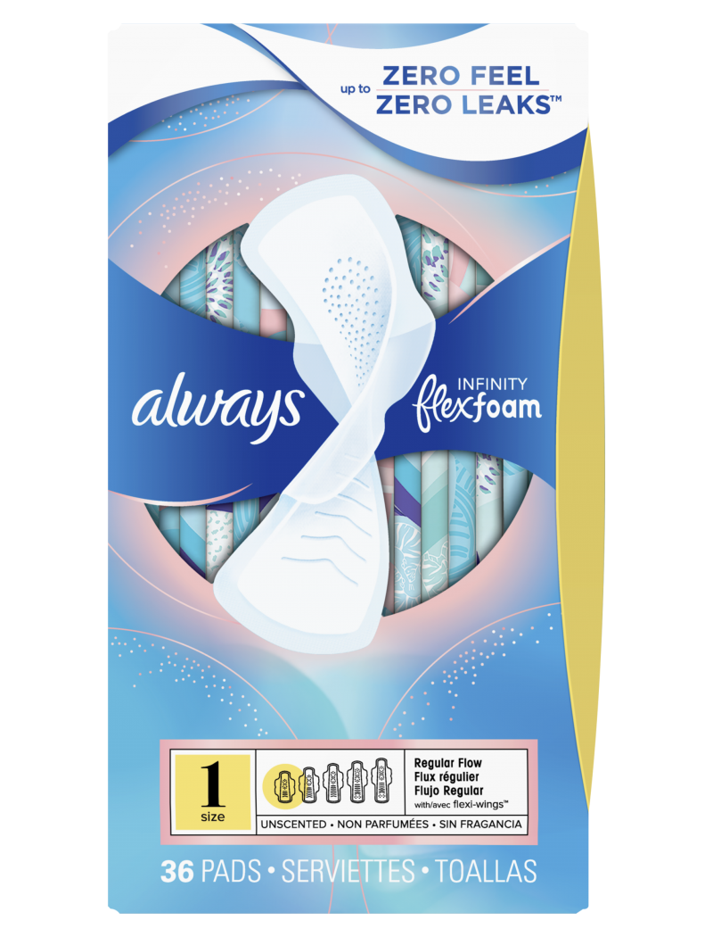 best drugstore pads and tampons