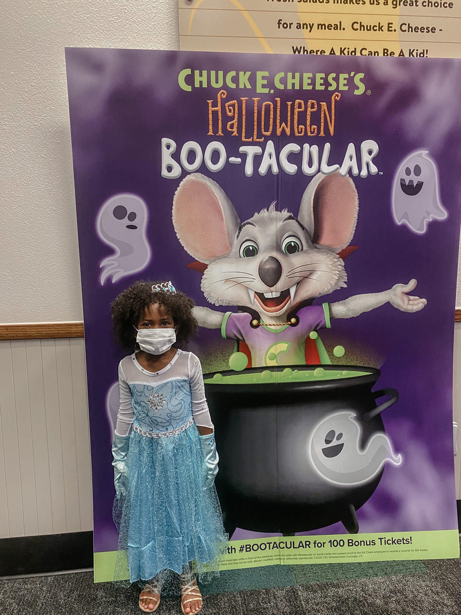Chuck E Cheese Halloween BooTacular
