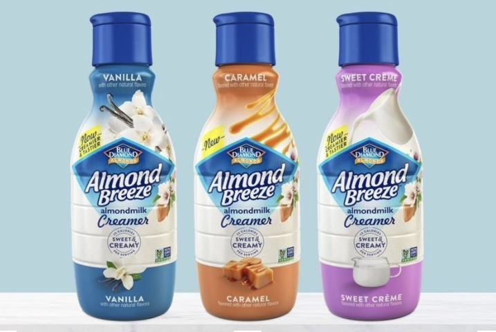 How to Use Dairy Free Almond Milk + Creamer with Almond Breeze